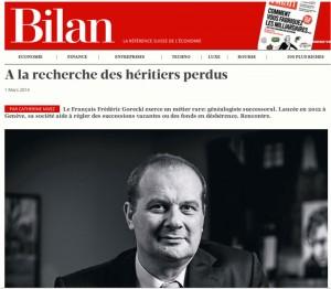Bilan, la référence Suisse de l'économie